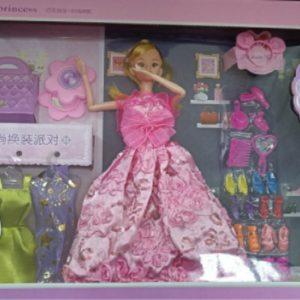 [ĐỒ CHƠI BÚP BÊ] Hộp đồ chơi cho bé gái, thay trang phục