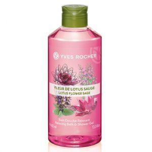 Gel tắm Yves Rocher Relaxing Shower Gel Lotus Flower & Sage 400ml Y118843 - 1904962