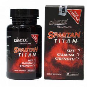 Thực Phẩm Sinh Lý Nam Spartan Titan - Dứt Điểm Xuất Tinh Sớm, Rối Loạn Cương Dương [ Đã cấp phép ]