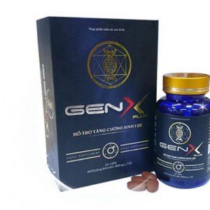 Thực phẩm hỗ trợ điều trị sinh lý nam GenX Plus Chính Hãng