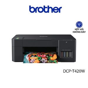 Máy in phun màu đa năng Brother DCP-T420W - 4.300.000đ