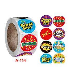 Sticker Cuộn⭐gồm 500 sticker hình dán dễ thương
